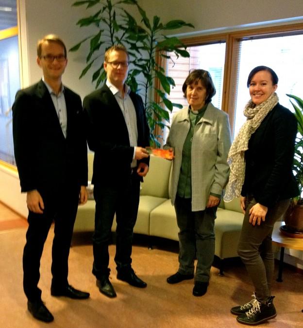 JC Joulupuu_Nordea delegation 2014